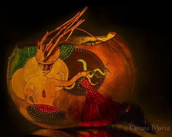 Gourd Art by Kerani Marie